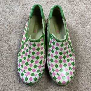 Sperry Top-Sider Rubber Garden Shoes rain shoes 6M